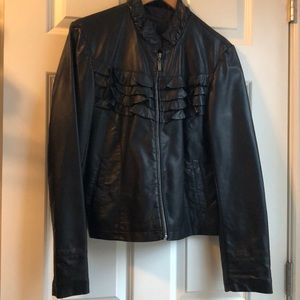 Bernardo black moto jacket
